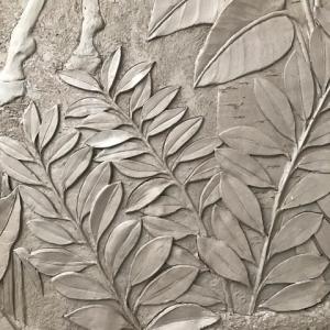 Feuillage en bas-relief