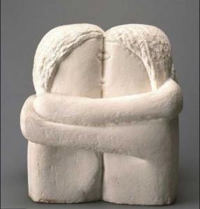 sculpture brancusi le baiser